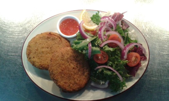 Fish cake doubled up!