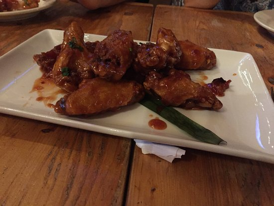 The Forks, ME: Maple Bourbon Wings