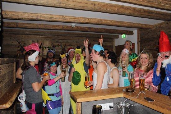 Flachau, Austria: Bar Fasching