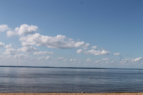 Betterton Beach: the water and beach