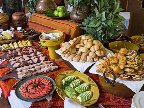 Inkaterra Machu Picchu Pueblo Hotel : Breakfast