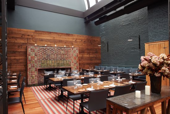 Main Dining Room - Fireplace Seating - Picture of The Milling Room ...