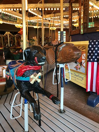 Cooperstown, NY: The carousel