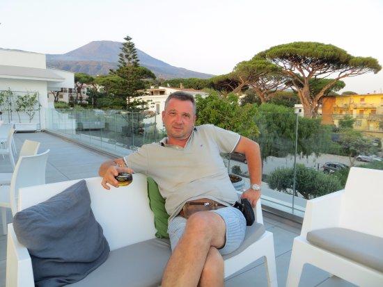 Hotel Marad: roof terrace