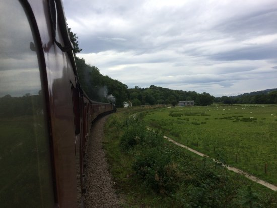 Pickering, UK: Views from the train journey