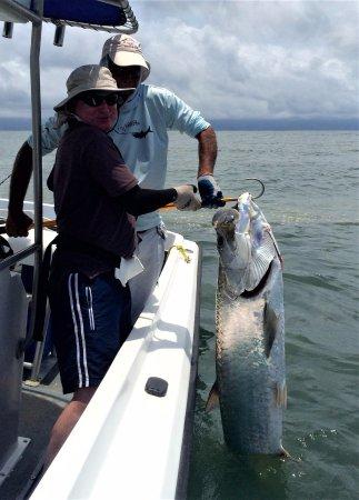 Barra del Colorado Wildlife Refuge, Costa Rica: Tarpon - catch & release