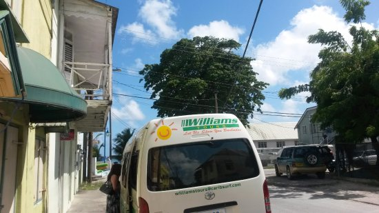 Christ Church Parish, Barbados: Having a pause during the tour.