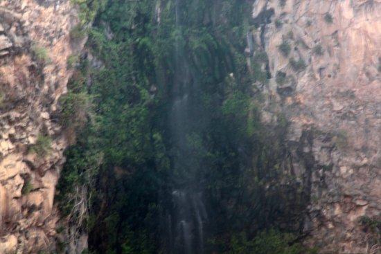 Gamla Nature Reserve: Upper half of the waterfall
