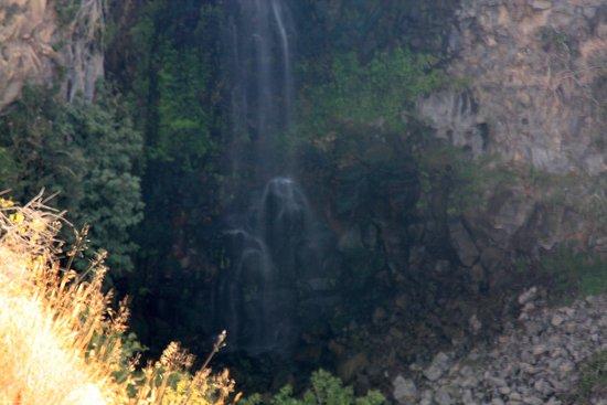 Gamla Nature Reserve: Lower half of the waterfall