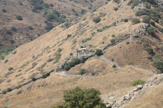 Gamla Nature Reserve: Overlook to the village of Gamla