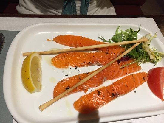 Le bistro des sables le lavandou restaurantanmeldelser for Sable s smoked fish