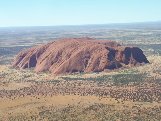 Yulara, Austrália: Uluru from the sky