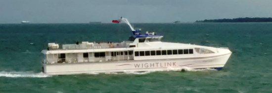 Hydrofoil Passenger Ferry To The Isle Of Wight Picture Of Wightlink Isle Of Wight Ferries Portsmouth Tripadvisor