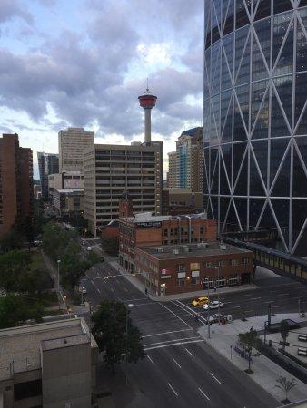 Delta Hotels By Marriott Calgary Downtown Torre Desde La Habitación