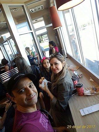 Hudson, Kanada: Parada para o café da manhã