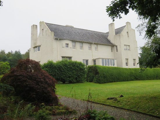 Helensburgh, UK: South west view Hill House