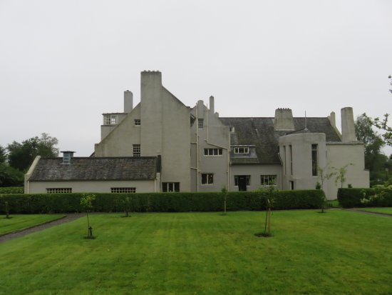 Helensburgh, UK: North view of Hill House
