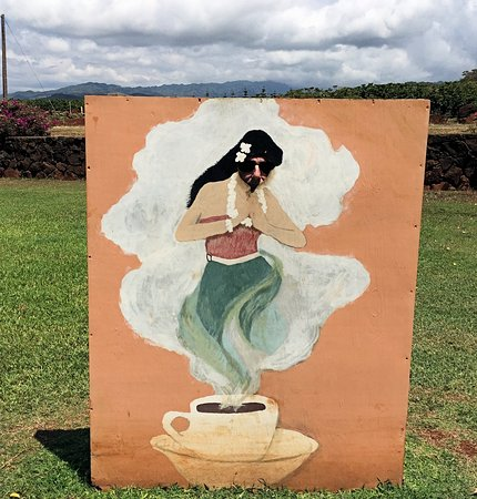 Kauai Coffee Company: see his nose