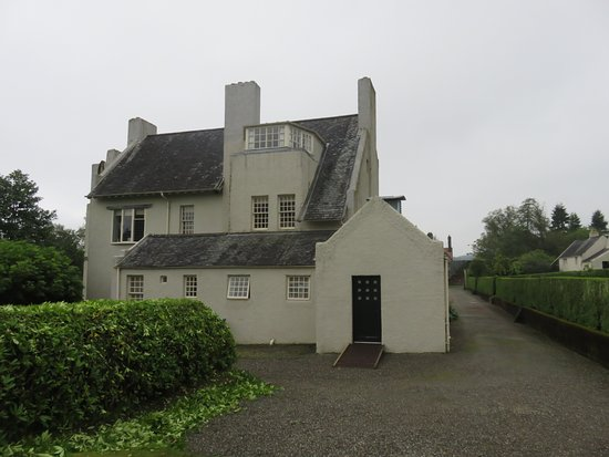 Helensburgh, UK: East side of Hill House