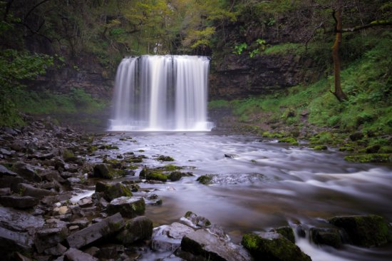 Brecon Beacons National Park, UK: Photo of Sgwd yr Eira waterfall