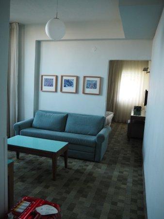 Hotel Prima Galil: リビング