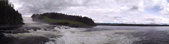 Duved, Sverige: panoramatická fotografie Tannforsen