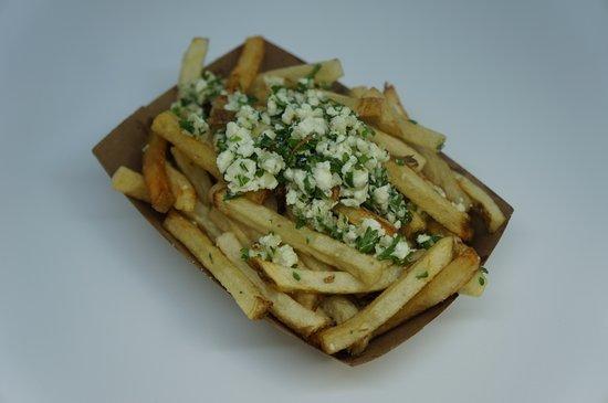 Garlic Feta French Fries