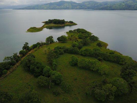 Nuevo Arenal, Costa Rica: PENINSULA TINAJAS AND ISLAND TINAJAS