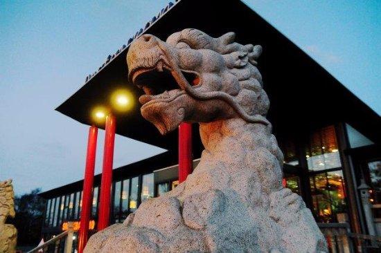 Rijperkerk, Niederlande: Dragon statue