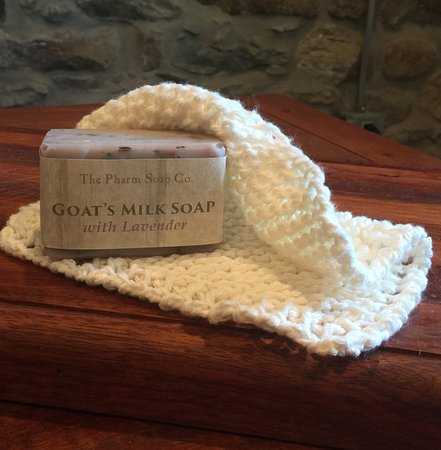 Phillipsburg, NJ: Handmade soaps, knitted washcloths and more in the farm stand