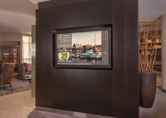 Annapolis Junction, MD: GoBoard - Interactive Lobby Technology