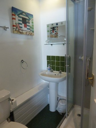 Caulfield's Hotel: Bathroom/shower