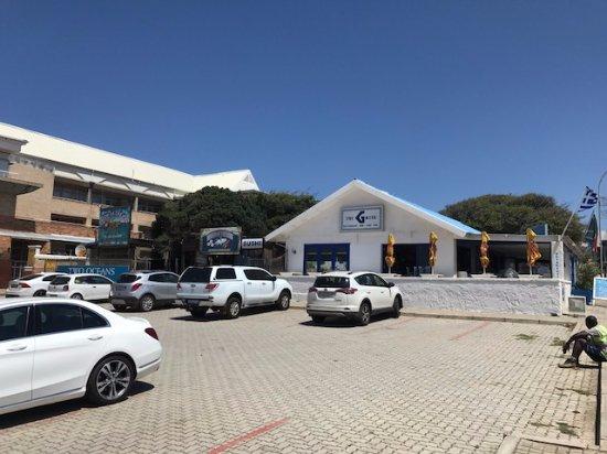 Jeffreys Bay, Zuid-Afrika: O Restaurante
