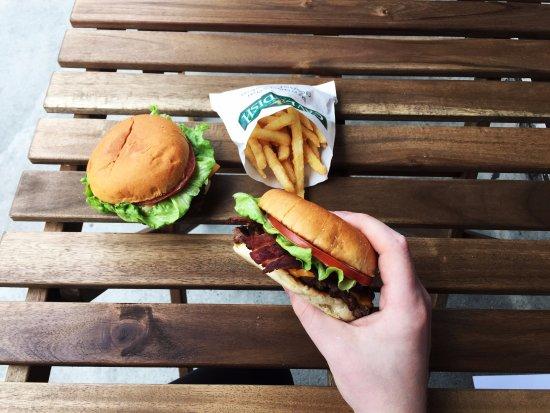 Block Burger : Bacon Block Combo
