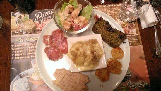 Andelat, France: l'assiette découverte du terroir