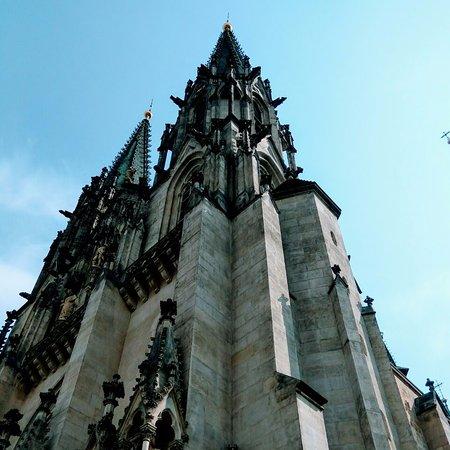 Olomouc, República Checa: St Wenceslas Cathedral up close