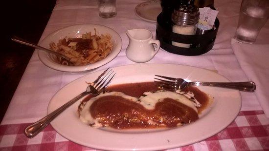 Bridgewater, NJ: Chicken parmigiana : Exquisite!