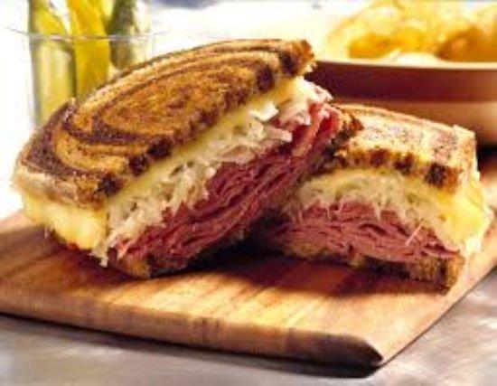 Callao, VA: Jumbo NY Style Corned Beef Reuben Sandwich