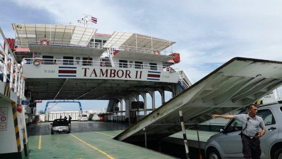 Tambor, Costa Rica: FERRY HACIA PAQUERA