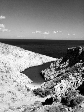 Акротири, Греция: Seitan Limania Beach