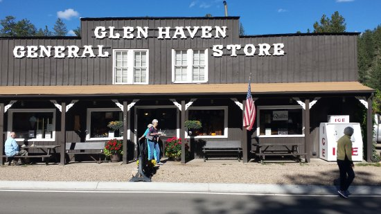 Glen Haven, CO: Only one of about three building.