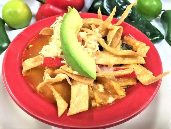 Colorado Grill : OUR MEXICAN CLASSIC TORTILLA SOUP