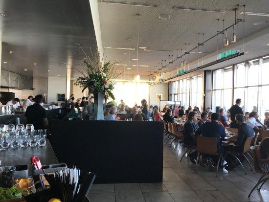 Slanted Door: Restaurant view