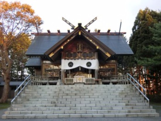 Tobetsu-cho, Japan: 拝殿の様子