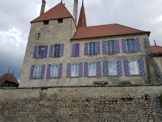 Avenches, Switzerland: Roman Wall