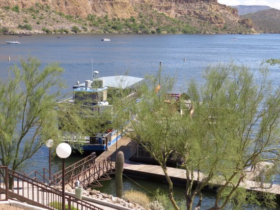 Mesa, AZ: View of the boat we took