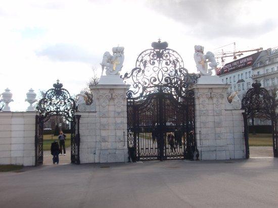 Belvedere Palace Museum: Wonderful gate