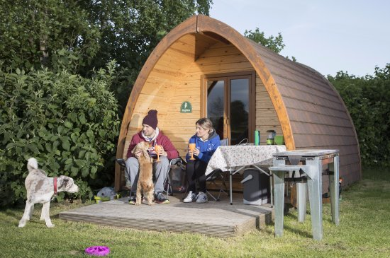 Pembridge, UK: Glamping Pod