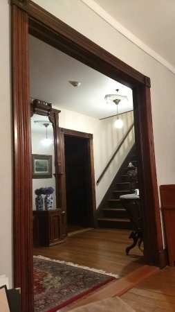 South Kingstown, RI: View from foyer leading up to the B&B rooms upstairs.