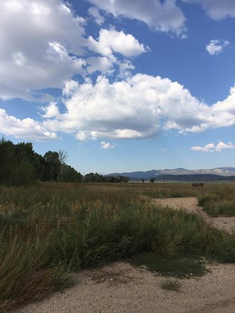 Pojoaque, NM: An unbeatable blue sky